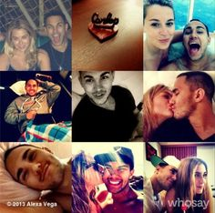 """Carlos Pena and Alexa Vega are engaged! Carlos is 24 and Alexa is 25. They broke the news on Instagram. She wrote """"Hello fiancé...."""" captioning a pic of Carlos. He posted a picture from their road trip where you can see Alexa's ring and wrote: """"My angel!!! @Alexa Vega awesome road trip so far!! Now we just need to get back..."""" Congratulations to Carlos and Alexa on their engagement! Source: Just Jared"""