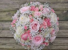 Rose and gyp flower bouquet