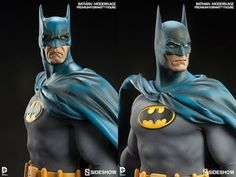A classic returns! Based on one of our most popular DC Comics collectibles to date, Sideshow Collectibles is proud to introduce the 'Modern Age' version of the Premium FormatTM Figure Dc Comics Art, Sideshow Collectibles, Statues, Comic Art, Batman, Age, Popular, Superhero, Classic