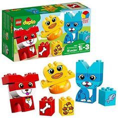 LEGO DUPLO My First Puzzle Pets Building Blocks. This is a favorite toy our 1 year old Loves, It's super popular and something he loves playing with.