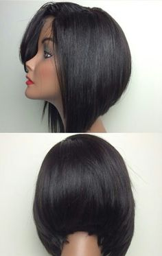 I know this isn't natural hair BUT. I'm Loving this bob. Protective style ???