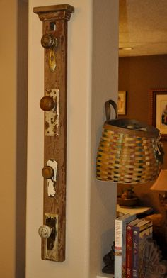 Hearth and Whimsy Hearth And Home, Back Doors, Repurposed, Lighting, Wall, Home Decor, Decoration Home, Room Decor, Lights