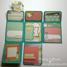 Stamping Rules!: Day 14: Project Life Mini Album