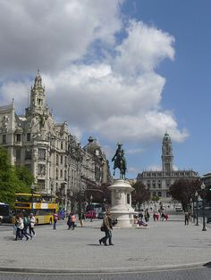 Liberdade Square | Flickr - Photo Sharing! Porto, Portugal