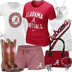 Women's University of Alabama Fan Gear