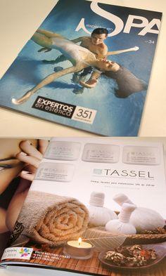 Cremas para SPA en la revista Expertos en Estética especial SPA verano 2015 #Tassel #TasselCosmetics