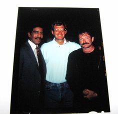 Robin Williams, David Letterman & Richard Pryor