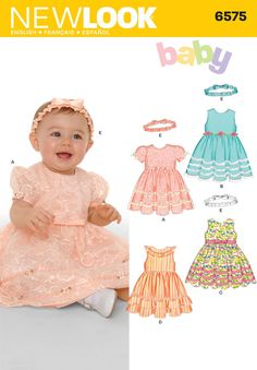 Pattern for Babies Dresses | Simplicity