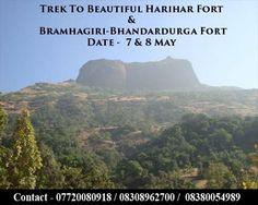 Trek To Harihar Fort & Bramhagiri-Bhandardurga Fort