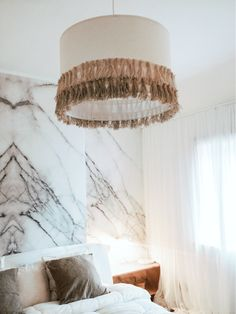 Marble Wallpaper Is The Latest Trend Youll Want Your Home To Rock Kitchen CountertopsLatest TrendsPendant LightsGreat Interior Design ChallengeWood