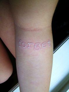<3 white tattoos