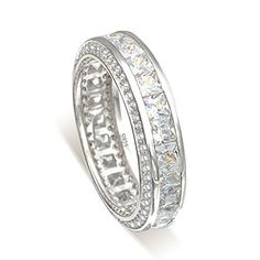 Ever Faith 925 Sterling Silver Channel Set CZ 3 Sided Engagement Bride Ring - Size O N06057-1 Ever Faith http://www.amazon.co.uk/dp/B00ZHOUIEC/ref=cm_sw_r_pi_dp_zreUvb1FGP1PM