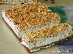 Ciasto Napoleon w 10 minut - Burczy w brzuszku Krispie Treats, Rice Krispies, Napoleon, Vanilla Cake, Banana Bread, Ale, Baking, Ethnic Recipes, Food
