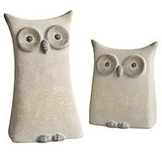 Pottery Owls review at Kaboodle