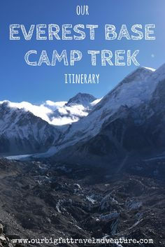 We spent two weeks trekking to Everest in Nepal, here's our Everest Base Camp trek itinerary, including where we stayed, tips and our Base Camp route.