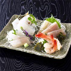 Sashimi   富山の郷土料理【昆布じめ刺身 特選4種セット】