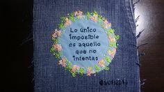 Delein Padilla y sus manualidades: 365 Bloques Patchwork de círculos 1 de 365