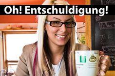 Learn German Phrases: Oh! Excuse me! One of my favorite words :) Learn German, German Language, Favorite Words, Im Trying, Memoirs, Helpful Hints, Preschool, Germany, Fur