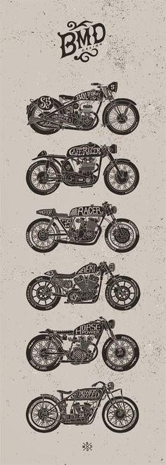 Motorcycle Art - BMD Design                                                                                                                                                                                 Mais