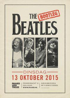 Dinsdag 13 oktober. http://www.paard.nl/event/4181/THE-BOOTLEG-BEATLES