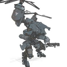 ArtStation - MarchOfRobots #4 - Gryphon, Aedel Fakhrie