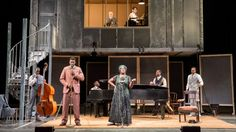 Ma Rainey's Black Bottom. National Theatre, London. Scenic design by Ultz.