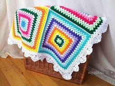 colchas de quadrados de lã