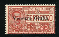 Espr. sopr. Venezia Giulia 25 c. (1).