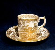 royal crown derby china gold aves - Google Search