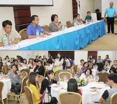 About 120 employer and worker representatives attended the Stakeholders' Forum conducted by senior officials of the Social Security System (SSS) at Hotel Centro in Puerto Princesa, Palawan on May 21.