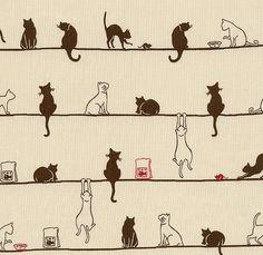 Cats 微波背景 ~ Source of original artist unknown ~
