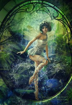 If we open our minds to enjoyment, we might find tranquil pleasures spread about us on every side. We might live with the angels that visit us on every sunbeam, and sit with the fairies who wait on every flower. ~ Samuel Smiles...#faerie #fantasy #fairy