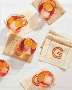 Sunny days and warm evenings, cookouts and pool parties—these are the things we look forward to most during the summer. #cocktails #drinkrecipes #marthastewart
