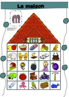 la maison et autres jeux de phonologie French Education, Art Education, French Worksheets, Abc Activities, Free Frames, Phonological Awareness, Arabic Funny, Teaching French, Speech And Language