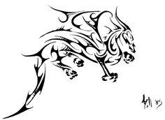 Celtic Dragon Tattoo   dragon tattoo ii by alwaysandcontinuousl designs interfaces tattoo ...