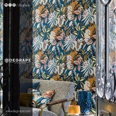 During January, Paris hosts two of the most prestigious lifestyle and design events in the world: Maison et Objet and Paris Deco Off. While Paris Design Agenda Prepasted Wallpaper, Vinyl Wallpaper, Original Wallpaper, Adhesive Wallpaper, Contemporary Design, Modern Design, Casamance, Big Design, Paris Design