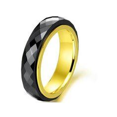 Black Gold Mens Wedding Rings Outstanding Gold n Black Mens