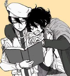 Drifters #Anime #Manga Abe no Seimei and Bucth Cassidy