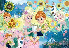 TEN-D300-267 ディズニー エルサのサプライズ パーティー (アナと雪の女王) 300ピース ジグソーパズル