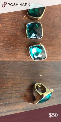 Shop Women's Kenneth Cole size One size fits all. Stretch Rings at a discounted price at Poshmark. Cocktail Rings, Jewelry Rings, Emerald, Quartz, Shop My, Womens Fashion, Closet, Things To Sell, Armoire