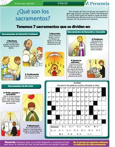 ¿Qué son los sacramentos? | Presencia Digital Catholic Catechism, Catholic Kids, Catholic School, Arctic Animals, Hobbies And Interests, Eucharist, Bible Stories, Cool Words, Spirituality