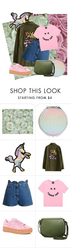 """""""Pink and Green"""" by fashiongirlz143 ❤ liked on Polyvore featuring Stoney Clover Lane, Valentino, Cape Robbin and Angela Roi"""