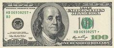 New Series 100 Dollar Bill Front