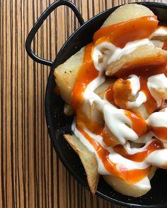 Patatas bravas #gastronomia #food