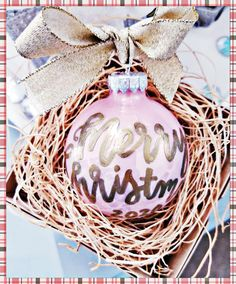 Custom Calligraphy Ornaments ... Taking advantage of our Calligraphy Christmas Sale will help you later on when its time to send out those Christmas Cards, order ornaments, tags, canvas prints, etc !! We are offering 15 percent off all calligraphy Christmas orders placed today through September 30th! ⛄❄ 🎅 Whether you need Christmas envelope addressing, custom cards, a canvas print, tags, ornament or anything calligraphy Christmas related...now is your time to book! If you are interested…