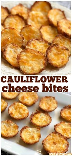 These Cauliflower Bites are the easiest and tastiest Keto or low carb snack! #cauliflowerbites #ketosnack