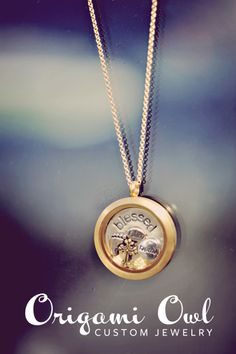 This Living Locket by Origami Owl is one of my favorites, as I feel blessed to be an Independent Designer with this company! All of our jewelry line is customizable, interchangeable lockets, charms, hand-stamped plates, dangles, tags, and chains selected by you. You tell stories with words. We tell stories with jewelry. What's your story?   Meryn Gruhn Di Tullio  Independent Designer #18359  http://idesign.origamiowl.com  idesignteam@ymail.com
