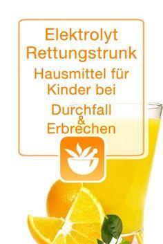 Ab 6 Monaten Hilft dir bei: Durchfall, Erbrechen Du brauchst: 1 l abgekochtes Wasser 150 ml Orangensaft 2 EL Traubenzucker 1/2 TL Kochsalz 1 Prise Backpulver Und so geht's: Einfacher geht's...