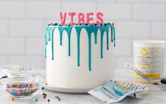 Cake Icing, Buttercream Cake, Cupcake Cakes, Cupcakes, Cookie Frosting, Easy Chocolate Ganache, Chocolate Drip, Ganache Recipe, Icing Recipe
