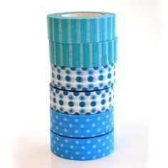 Our blue Washi Type range for Go check out our online shop Creative Crafts, Washi, Paradise, Range, Scrapbook, Type, Check, Shop, Cookers